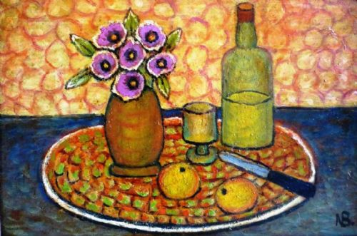Norman Bray Modern British Still Life Oil Painting